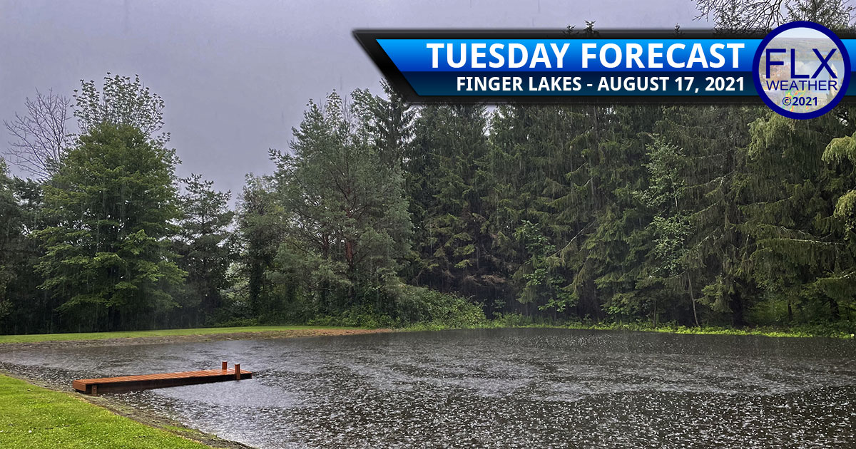 finger lakes weather forecast tuesday august 17 2021 heavy rain torrential downpours tropical storm fred