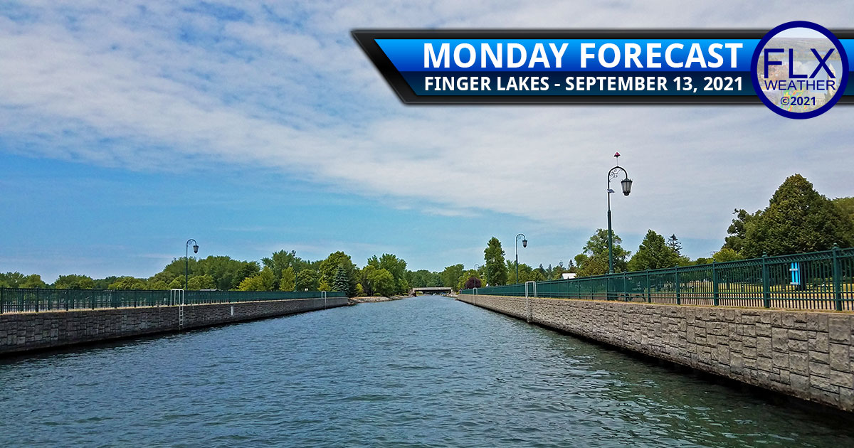 finger lakes weather forecast monday september 13 2021 sun clouds front showers thunderstorms