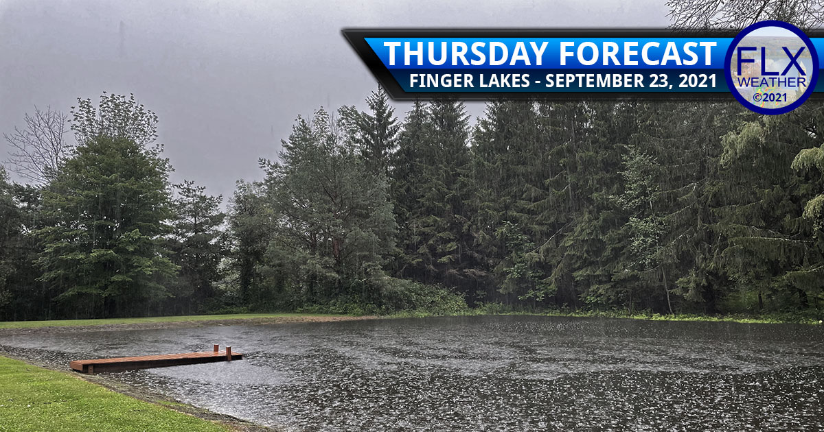 finger lakes weather forecast thursday september 23 2021 cold front heavy rain windy