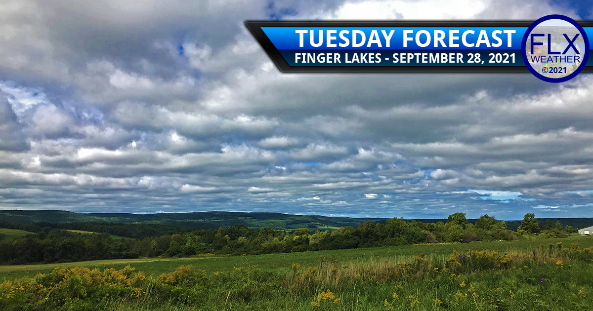 finger lakes weather forecast tuesday september 28 2021 cold front showers clouds sun chilly