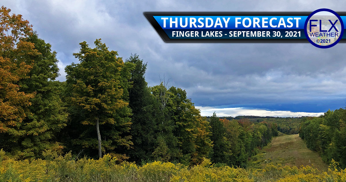 finger lakes weather forecast thursday september 30 2021 lake effect clouds showers chilly cool
