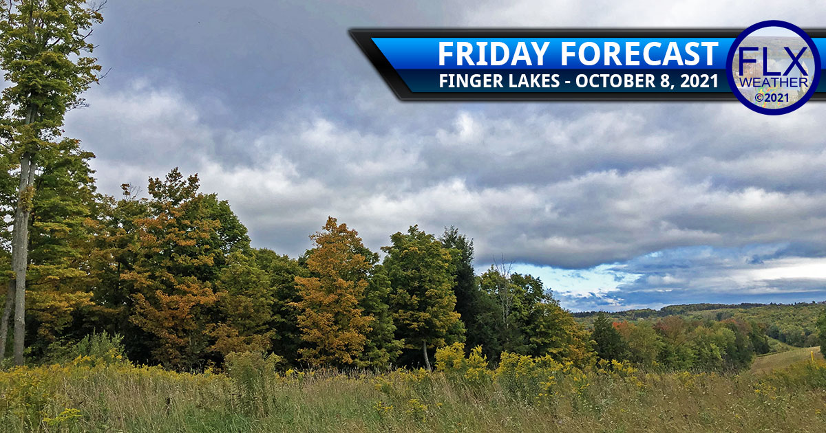 finger lakes weather forecast friday october 8 2021 sun clouds showers weekend