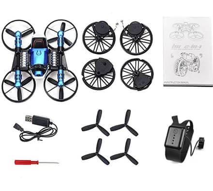 Уникальный новый мото-Квадрокоптер Fly Drive 2 в 1