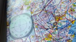 Pooleys VFR Flying Aids (Compass Rose Stickers)