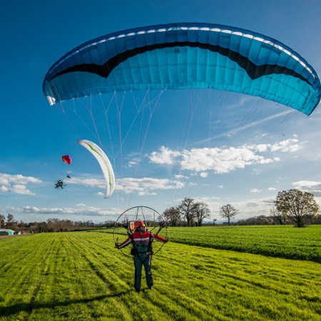 UK paramotor training