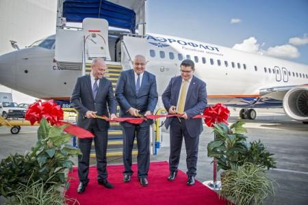 Aeroflot recibe su primer Boeing 737-800.