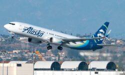 Boeing 737 MAX de Alaska Airlines.