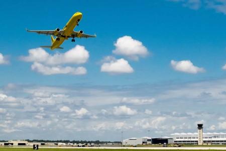 Spirit cuenta con una flota de 89 aviones de la familia A320, incluido el primer A321 montado en Estados Unidos.