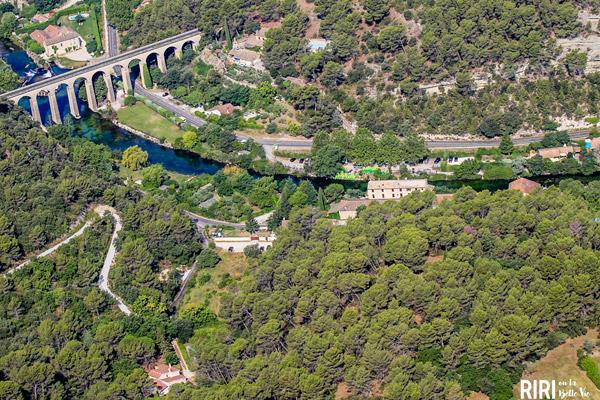 photos aériennes vaucluse