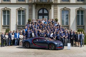 Photo of Bugatti makes the 100th Chiron