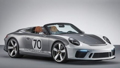Photo of The Porsche 911 Speedster Concept: open-top, pure and with over 500 hp