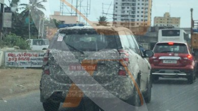 Photo of First spy shot of the XUV 500 spotted on Road.