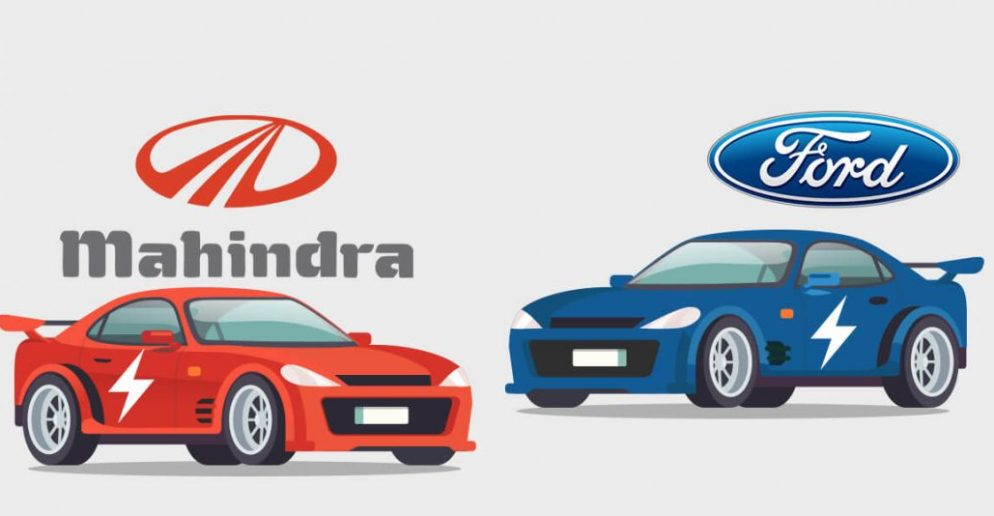 Mahindra and Ford Sign Agreements on Powertrain Sharing and