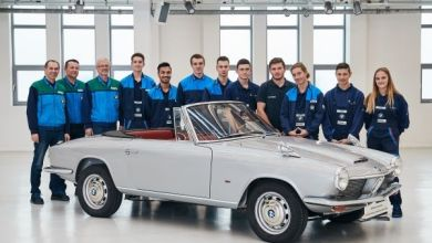 Photo of Rebirth in Dingolfing: The BMW 1600 GT convertible.