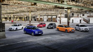 Photo of Audi Sport is Celebrating 25 years of the Audi RS Models