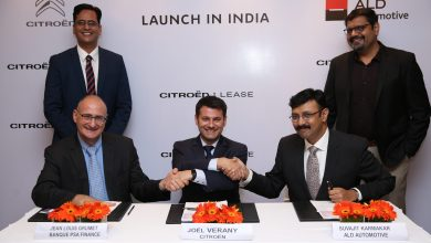 Photo of 'Citroën Lease' the exclusive leasing program by Citroën in Indian market.