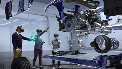 Photo of Kia and Hyundai debut virtual reality(VR) design evaluation system.