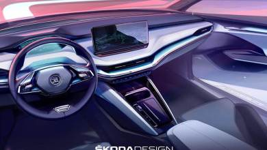 Photo of Interior Design sketch of the Skoda Enyaq iV revealed ahead of the Global unveil