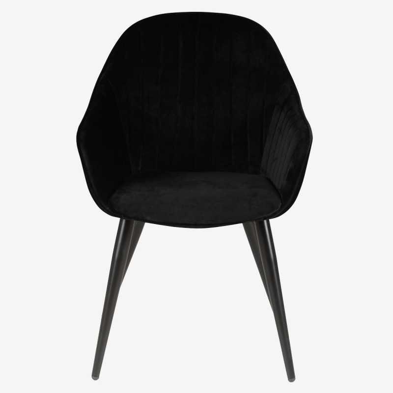 fauteuil en velours bari ftl