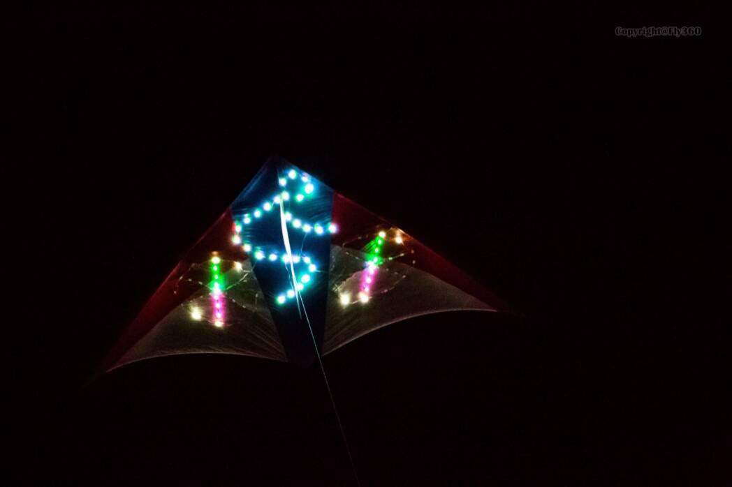 Night kite-Fly360
