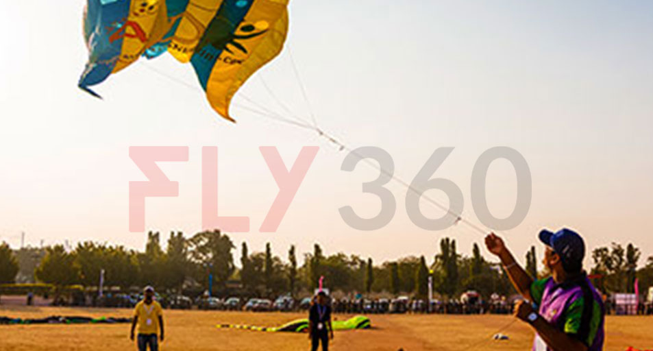 kite flying - International Kite Festival