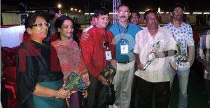 FLY360 team felicitation by Rotary club of Solapur. - kite festival