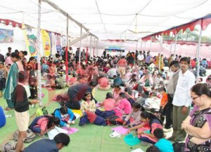 World Record in process - kite festival