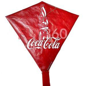Coca-cola-kite-branding-on-kite-marketing-fly360