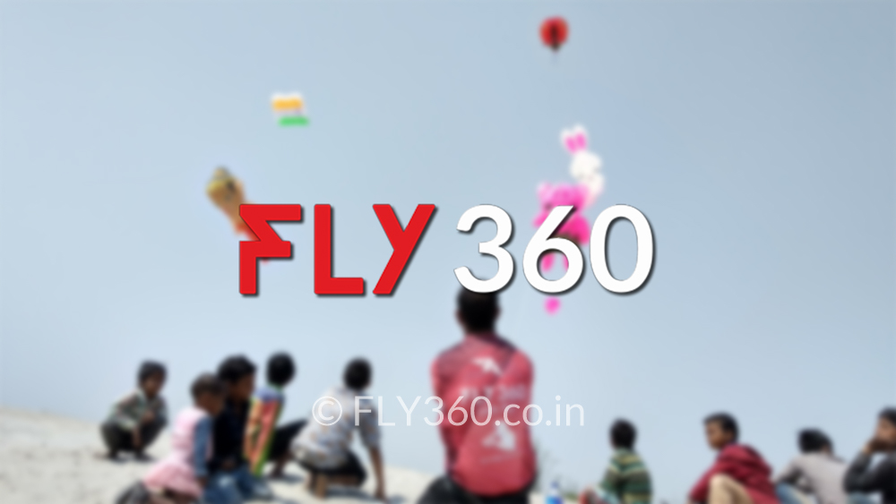 National and International kite festival FLY360