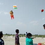 teach kids kite flying