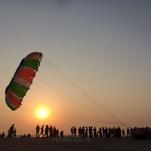 pROMOTE TOURISM FLY360 SPINNER KITE