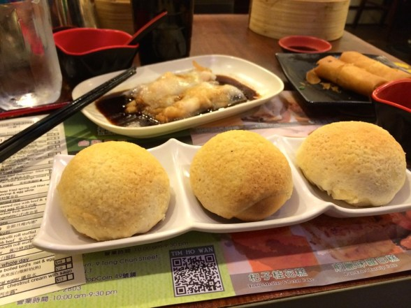 Baked BBQ Pork Bao from Tim Ho Wan