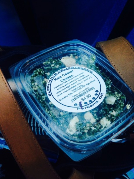 Kale Caesar Salad at Elephants Delicatessen. Photo by Claire Coffee.