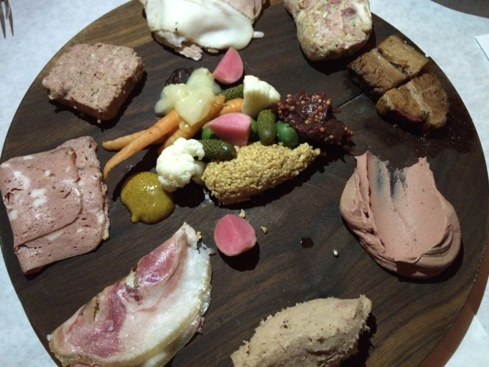 Kris Morningstar's charcuterie plate at Terrine would make any French citizen proud.