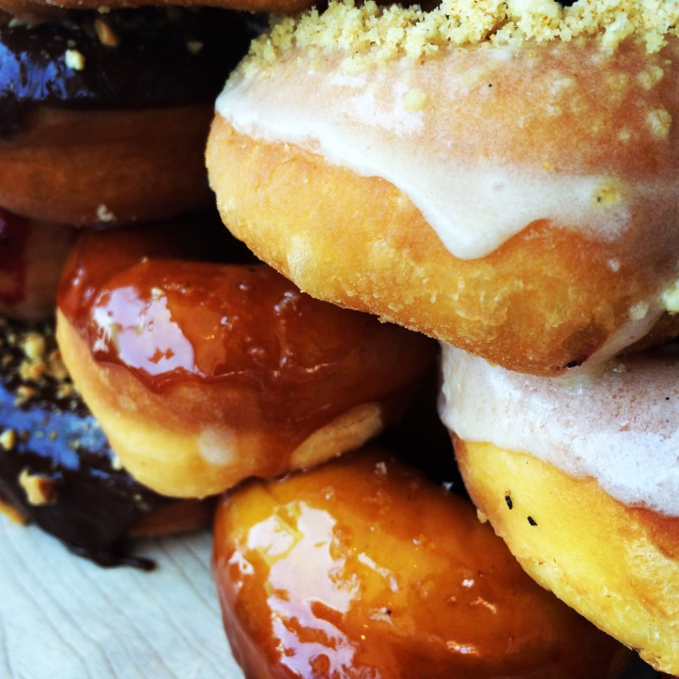I go nuts for doughnuts.