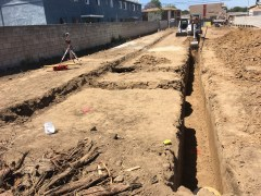 Digging deep trenches