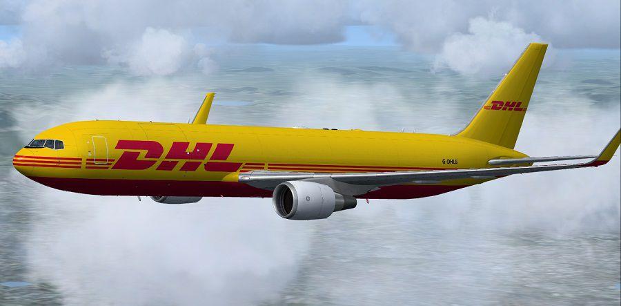 Dhl Dhl Air Boeing 767 3jhf For Fsx