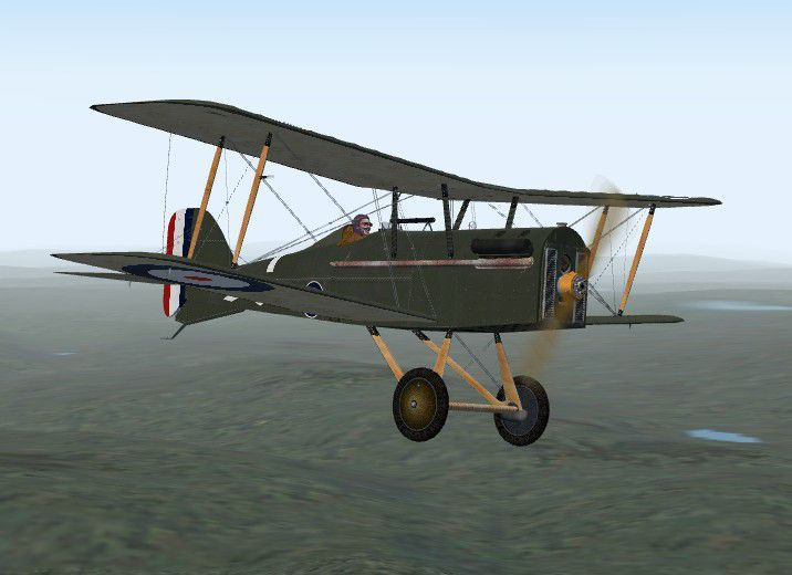 Royal Aircraft Factory SE5A For FSX