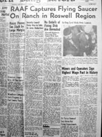 Roswell daily record newspaper 1947