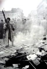 La revolución húngara, 1956.