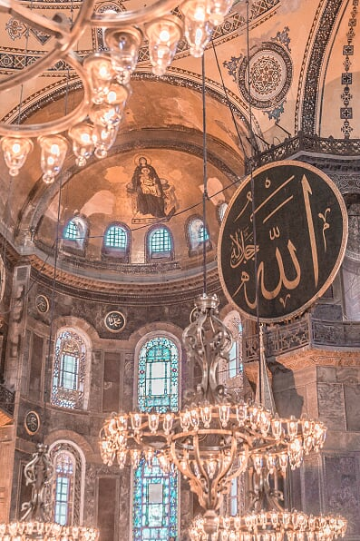 what to do in istanbul in 5 days - hagia sophia