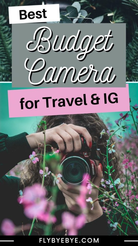 The best travel camera for Instagram when you are on a budget. Cheap camera for travel and Instagram. Read my honest review on the best budget camera for travel photography. #travelphotography #cheapcameras