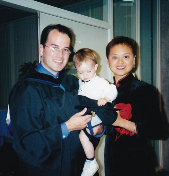 Yan at Graduation