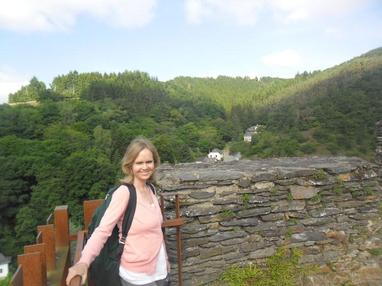C at Esch sur Sure castle ruins
