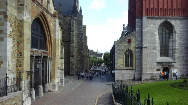 Vrijthof passage in Maastricht, Netherlands