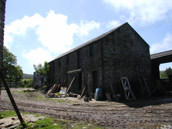 Ruins of a Manx farmhouse