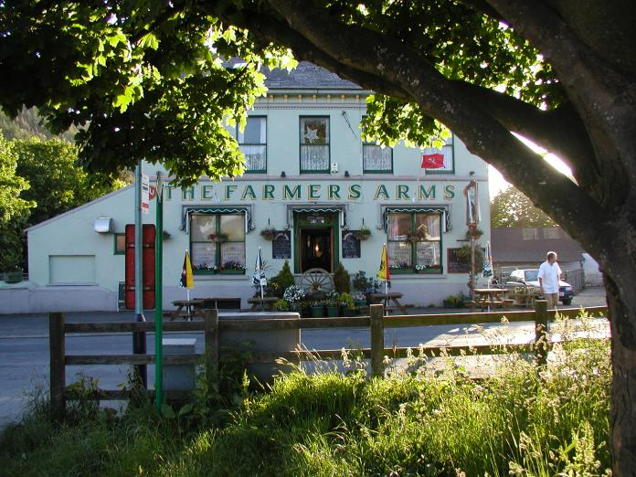 A pub on the Isle of Man