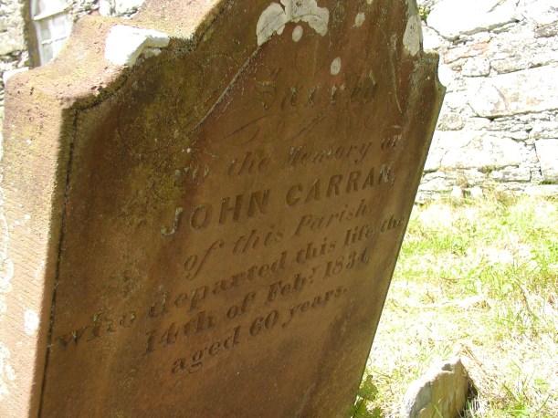 Gravestones of Vannin