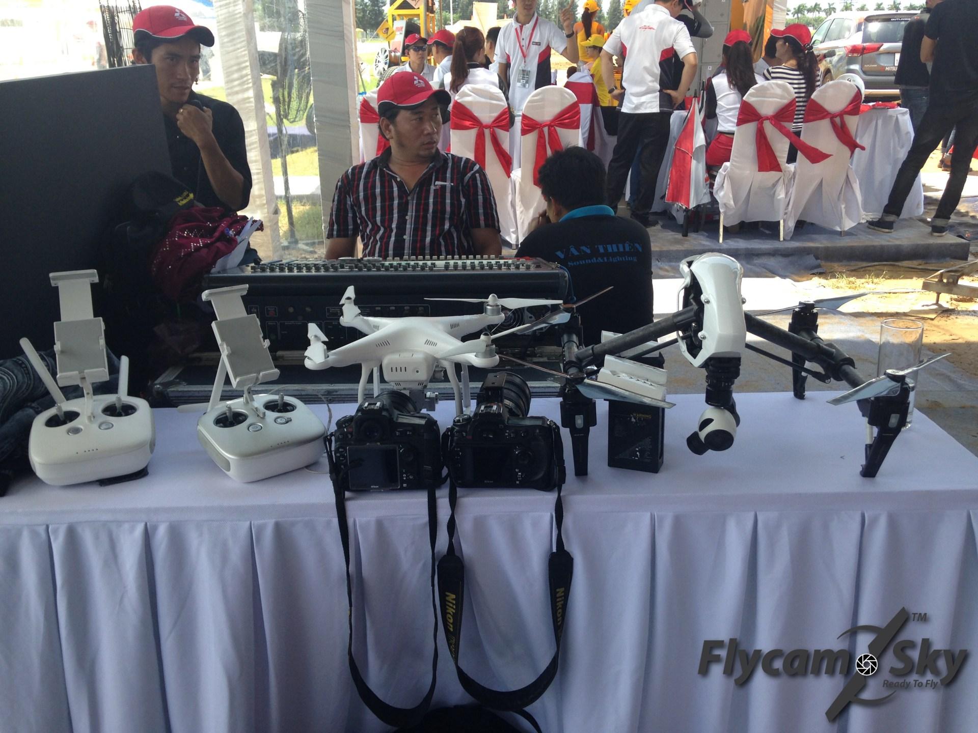 Flycam quay sự kiện