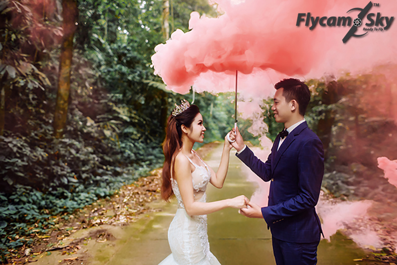 fly cam quay phim cuoi an tuong